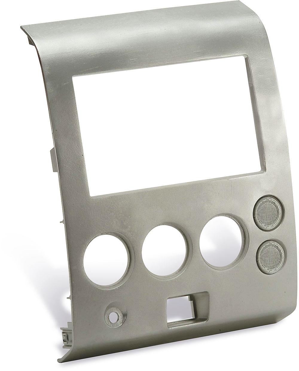 Metra 95 7406 dash kit fits 2004 07 nissan titan 2004 pathfinder 2005 07 armada double din radios at crutchfield com