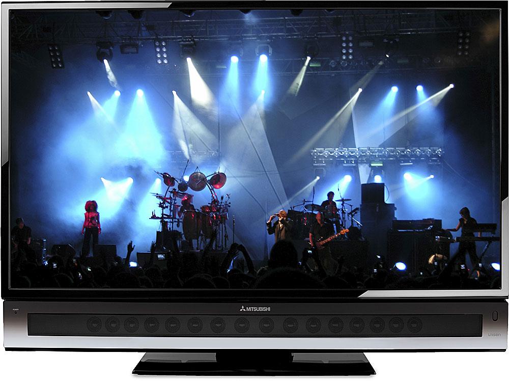 "Mitsubishi LT-52249 52"" Diamond-Series 1080p LCD HDTV with ..."