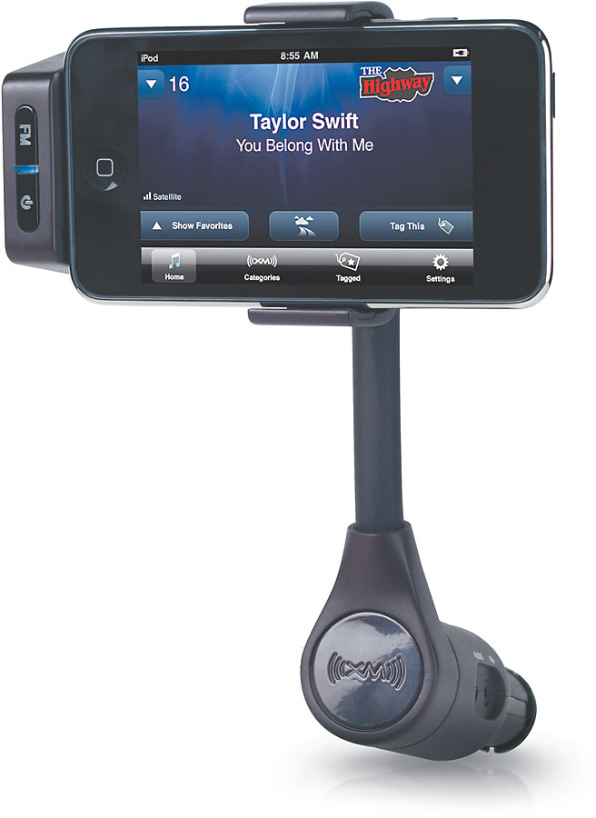 xm skydock live satellite radio anywhere you drive using your ipod rh crutchfield com
