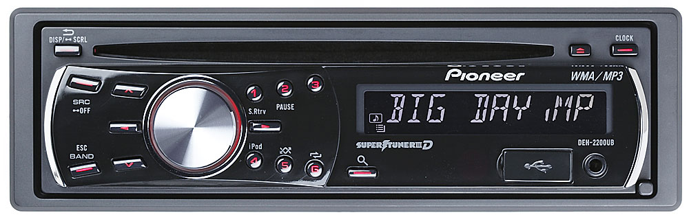 pioneer deh 2200ub cd receiver at crutchfield com rh crutchfield com pioneer deh-2200ub wiring diagram pioneer deh-2200ub wiring diagram