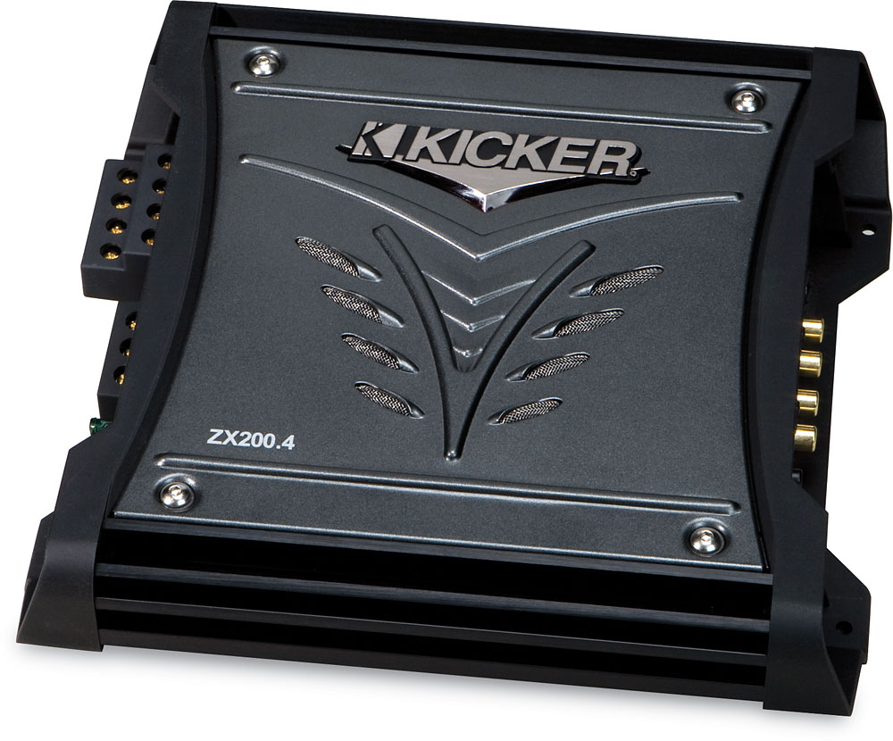 x2068ZX2004 f kicker 08zx200 4 4 channel car amplifier 35 watts rms x 4 at Kicker Zx350.4 Fader at highcare.asia
