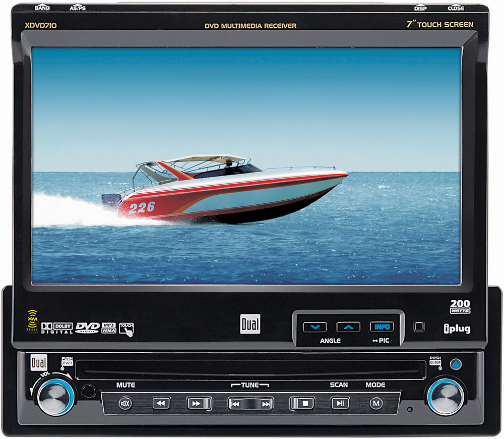 Dual XDVD710 DVD receiver at Crutchfield.com