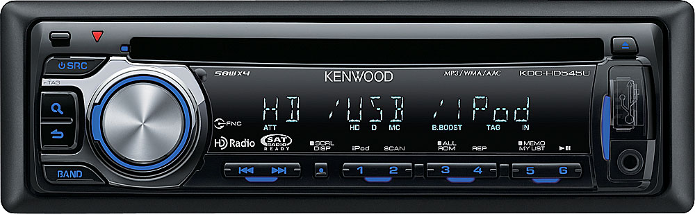 Kenwood kdc hd545u cd receiver at crutchfield cheapraybanclubmaster