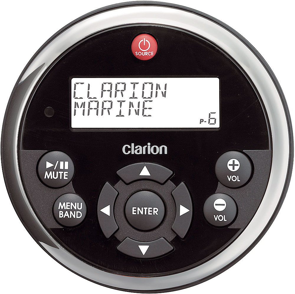 x020MW1 f clarion mw1 wired marine remote control at crutchfield com Clarion Mobile Electronics at bayanpartner.co