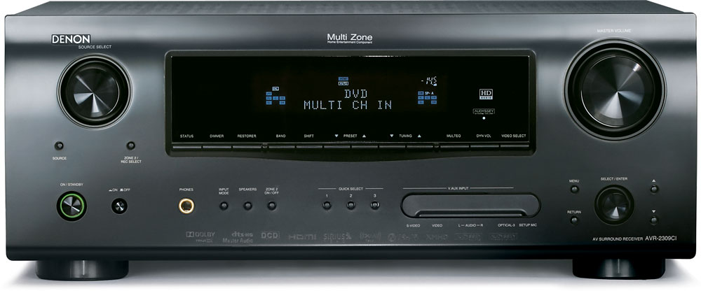 Denon AVR-2309CI Home theater receiver with HDMI switching ...