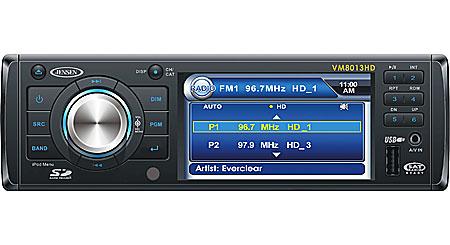 Jensen VM8013HD DVD receiver