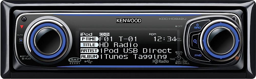 kenwood kdc hd942u cd receiver at crutchfield com