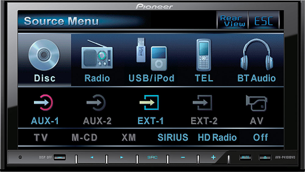 x130AVHP410 f pioneer avh p4100dvd dvd receiver at crutchfield com pioneer avh p3100dvd wiring diagram at nearapp.co