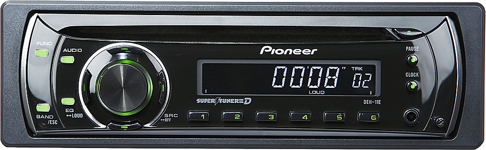 [DIAGRAM_4FR]  Pioneer DEH-11E CD receiver at Crutchfield | Pioneer Deh 11e Wiring Diagram |  | Crutchfield