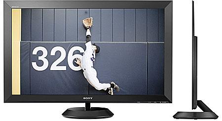 "Sony KLV-40ZX1M Ultra-thin 40"" BRAVIA® 1080p LCD monitor"