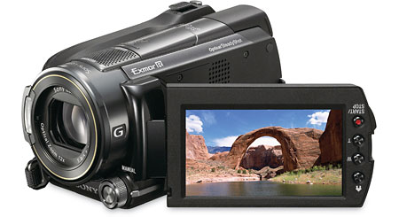 Sony HDR-XR520V 240GB high-definition hard drive/Memory Stick® camcorder, GPS-enabled