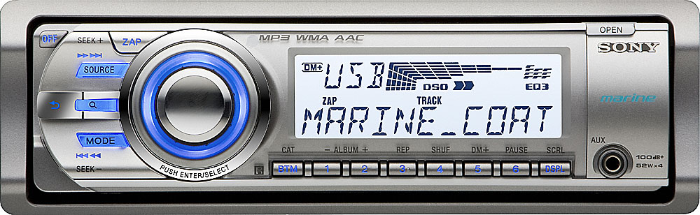 sony cdx m60ui marine receiver at crutchfield com rh crutchfield com Sony Car Stereo sony cdx-m60ui wiring diagram