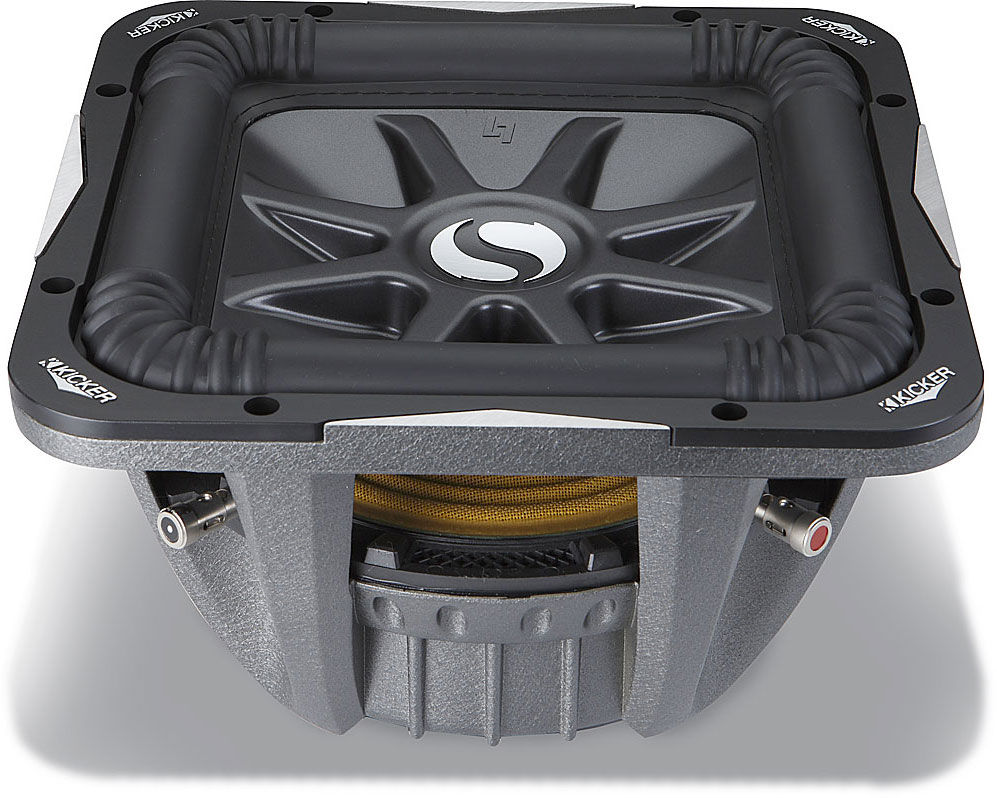 Kicker Solo Baric L7 Series 08s10l74 10 Subwoofer With Dual 4 Ohm Sub Box Wiring Diagram Voice Coils At