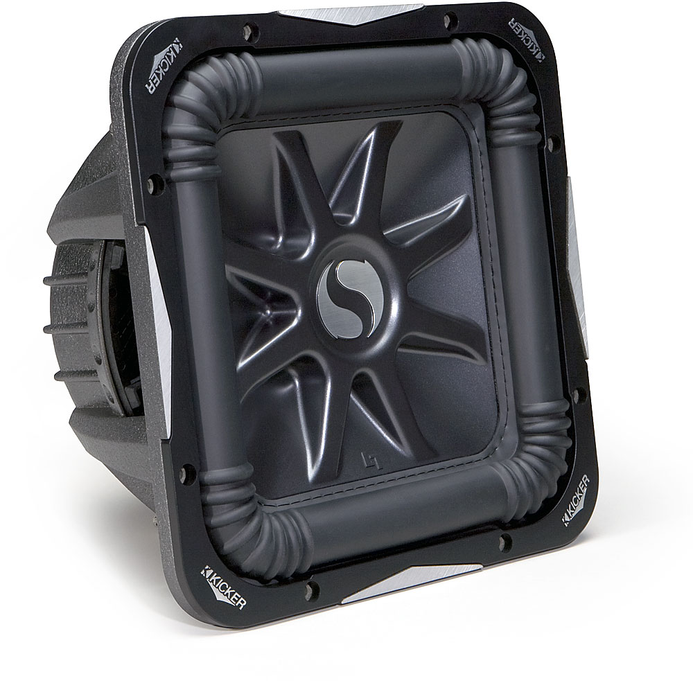 Kicker Solo Baric L7 Series 08s12l74 12 Subwoofer With Dual 4 Ohm Wiring Diagram Voice Coils At