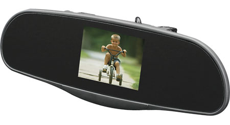 "Audiovox RVM35 Monitor Rear-view mirror with 3.5"" TFT monitor"