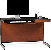 BDI Sequel 6003 Compact Desk- Natural Stained Cherry