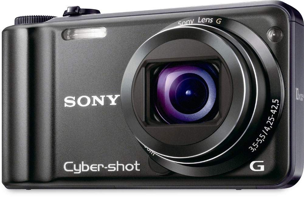 Sony cyber-shot® dsc-h55 14. 1-megapixel digital camera with 10x.