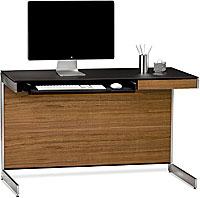 BDI Sequel 6003 Compact Desk- Natural Walnut