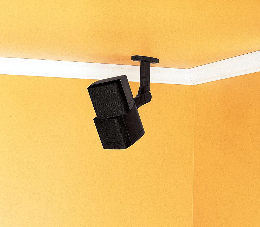 Sanus WMS3 (Black) Wall/ceiling speaker brackets at Crutchfield.com