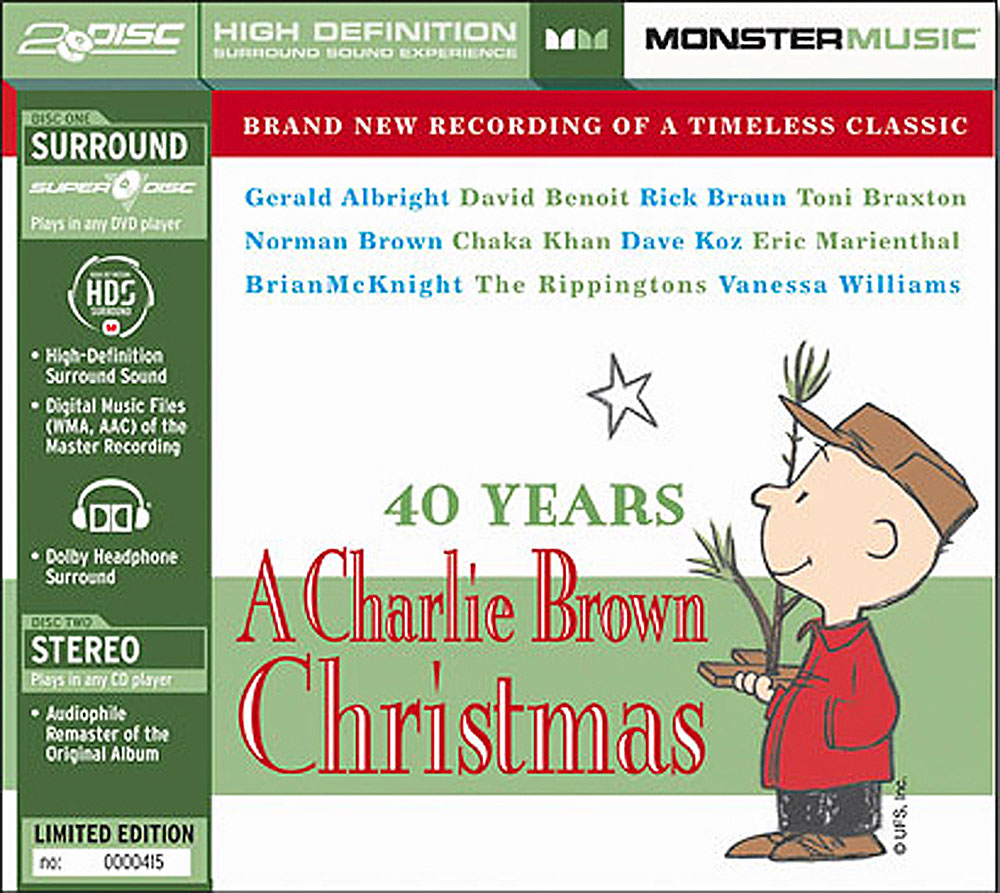 40 Years: A Charlie Brown Christmas (Various Artists) Stereo CD ...