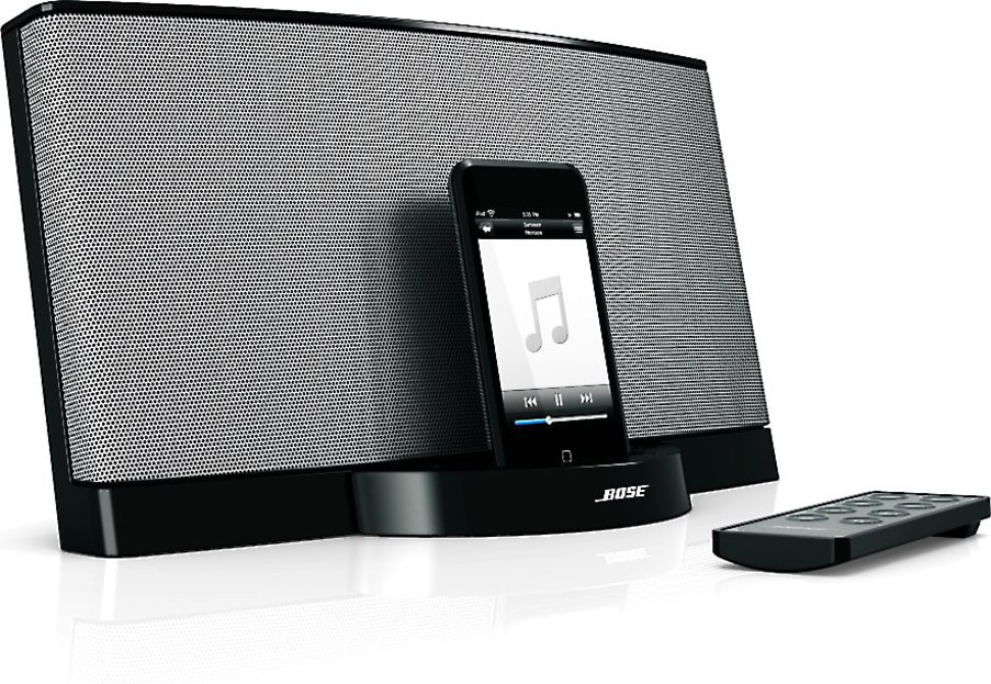 Bose® SoundDock® Series II digital music system (Black) for iPod® and  iPhone® at Crutchfield