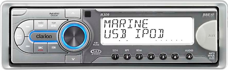 x020M309 f clarion m309 marine receiver marine cd receiver at crutchfield com clarion m309 wiring diagram at gsmportal.co