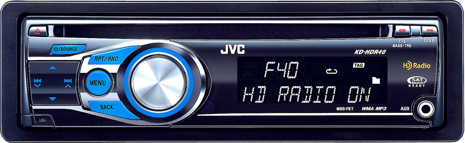 JVC KD-HDR40 CD receiver at Crutchfield on