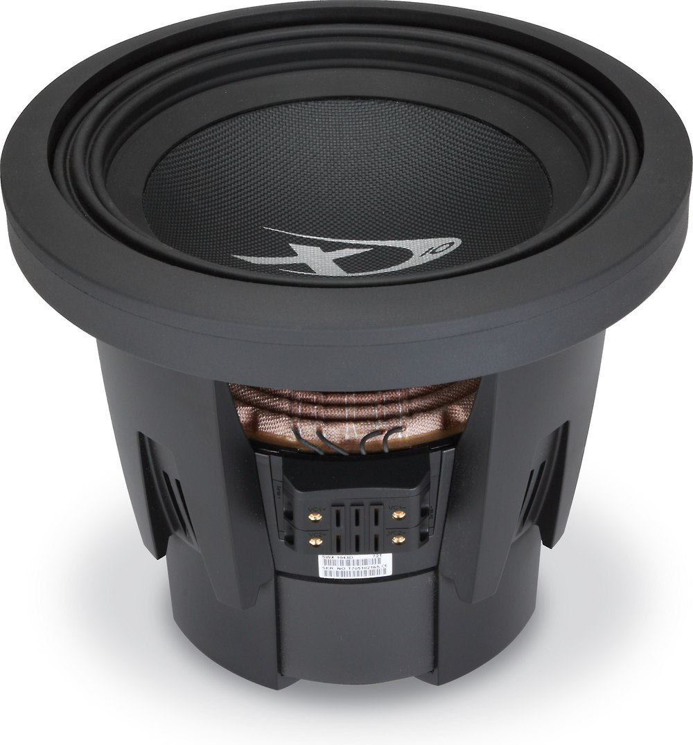 alpine swx 1043d type x 10 subwoofer with dual 4 ohm. Black Bedroom Furniture Sets. Home Design Ideas