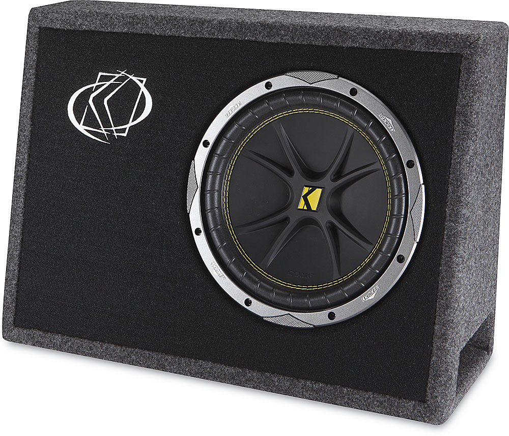Kicker Tc10 Ported Truck Enclosure With One 10 Comp Subwoofer At Srt 4 Sub Wire Diagram