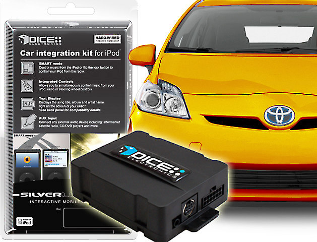 DICE iPod® Interface Control your iPod with select 2003-up Toyota