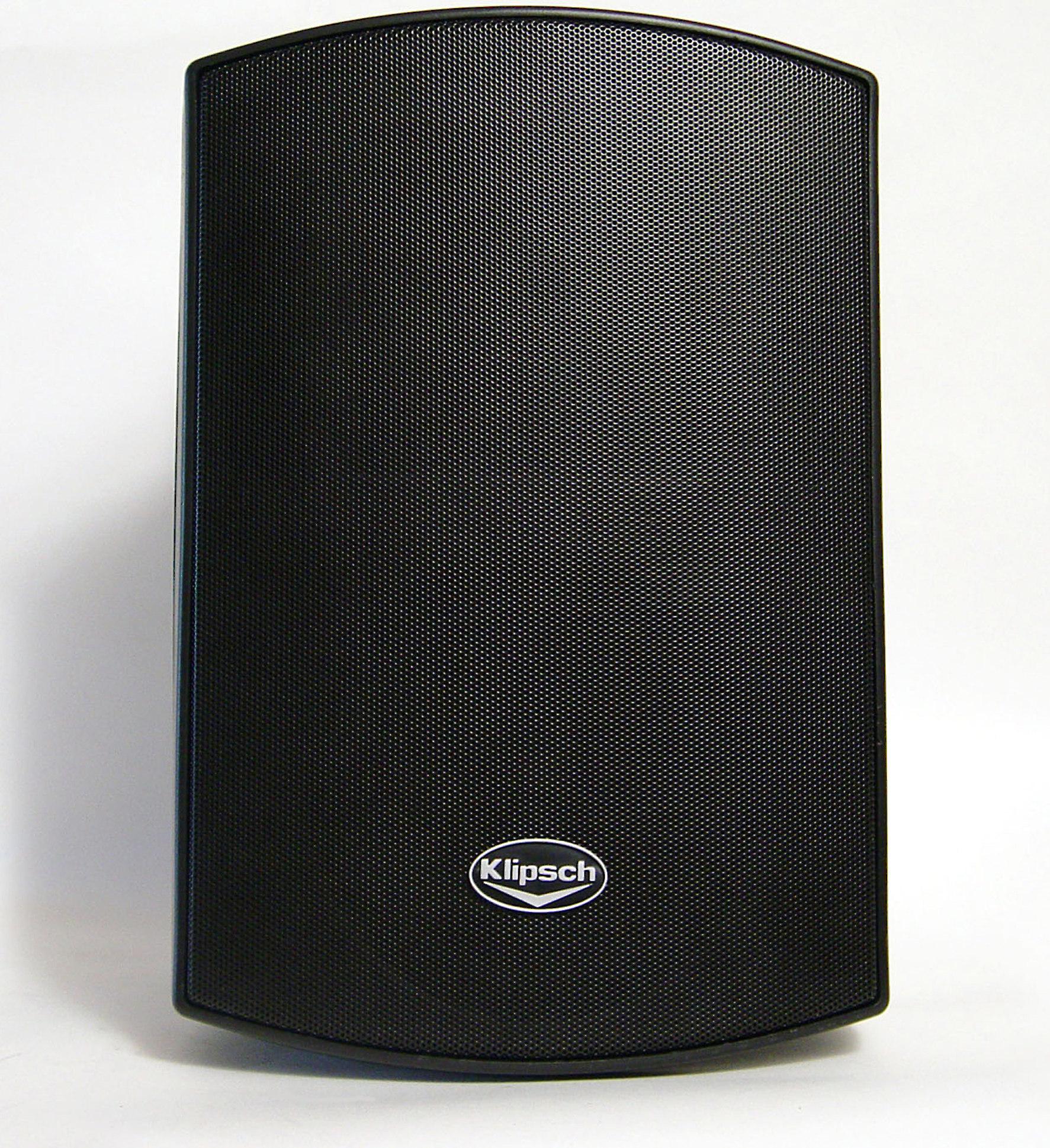 b3e7aa0b2f3 Klipsch AW-525 (Black) Outdoor speakers at Crutchfield