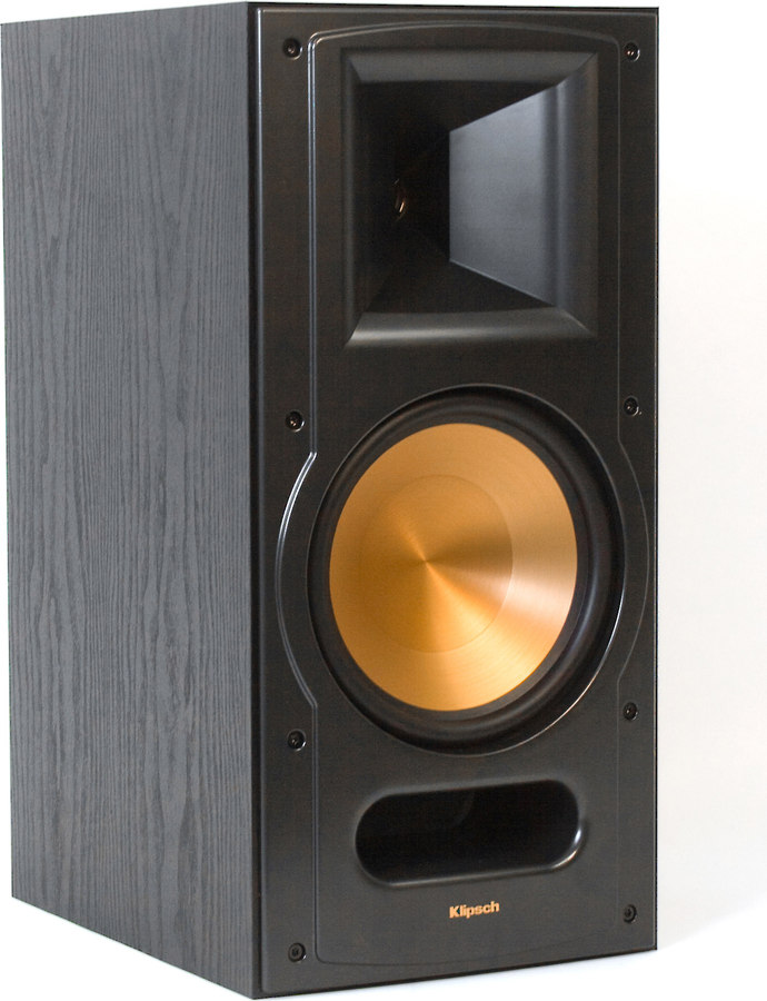 klipsch reference rb 81 ii black ash bookshelf speaker. Black Bedroom Furniture Sets. Home Design Ideas