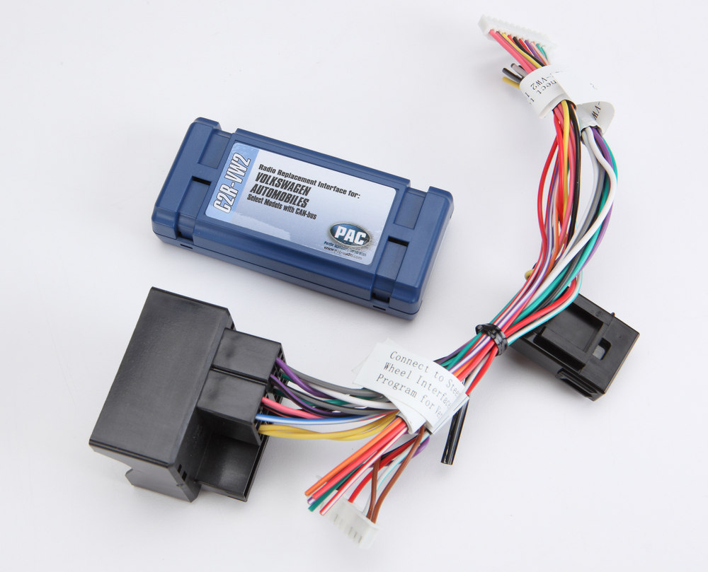 Pac C2r Vw2 Wiring Interface Connect A New Car Stereo In Select 2002 Works Vw Harness Up Volkswagen Vehicles At