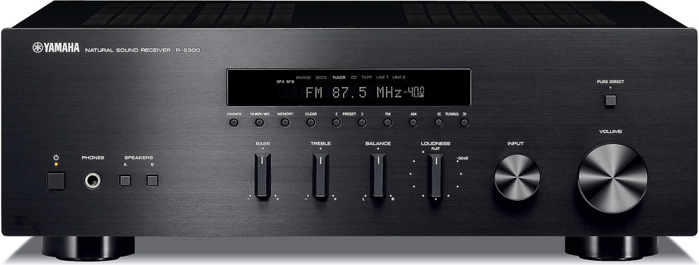 yamaha r s300 stereo receiver at crutchfield com rh crutchfield com Yamaha Rs 300 BL Yamaha P2050