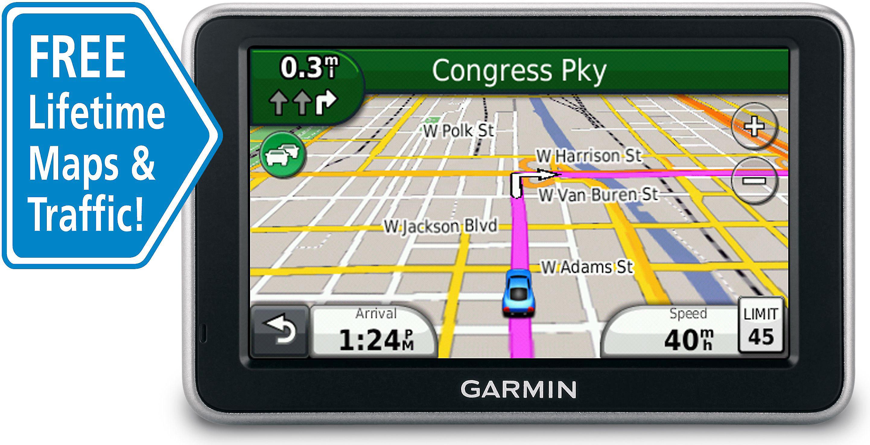Garmin nüvi® 2350LMT Portable navigator with free lifetime traffic on