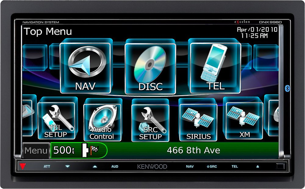 Kenwood Excelon DNX9960 Navigation receiver at Crutchfield.com