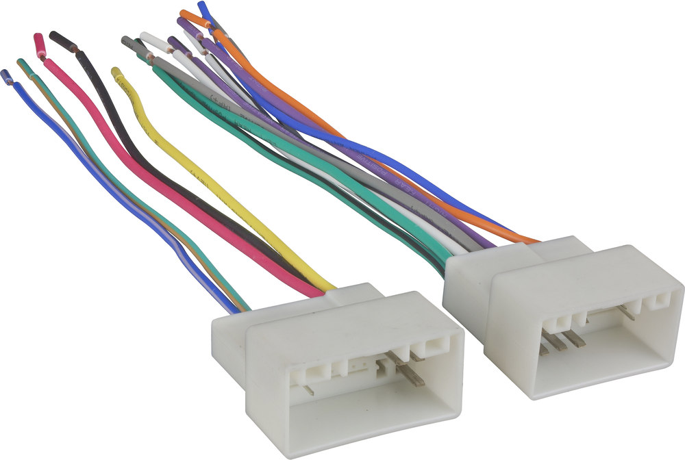 x120707304 F wiring harnesses at crutchfield com Car Stereo Wiring Colors at alyssarenee.co