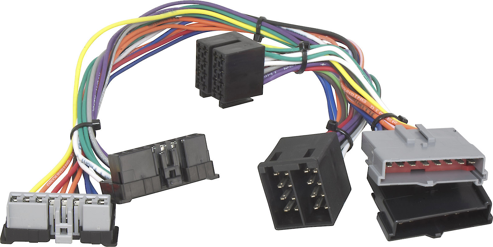 ford bluetooth� wiring harness connects parrot bluetooth cell phone kits to  the factory stereo in select 1986-2002 ford vehicles at crutchfield