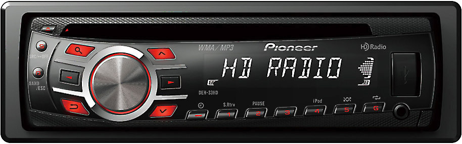 x130DEH33HD F pioneer deh 33hd cd receiver at crutchfield com pioneer deh-33hd wiring diagram at bayanpartner.co