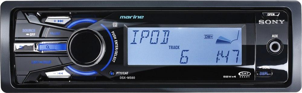 sony dsx ms60 marine digital media receiver at crutchfield com
