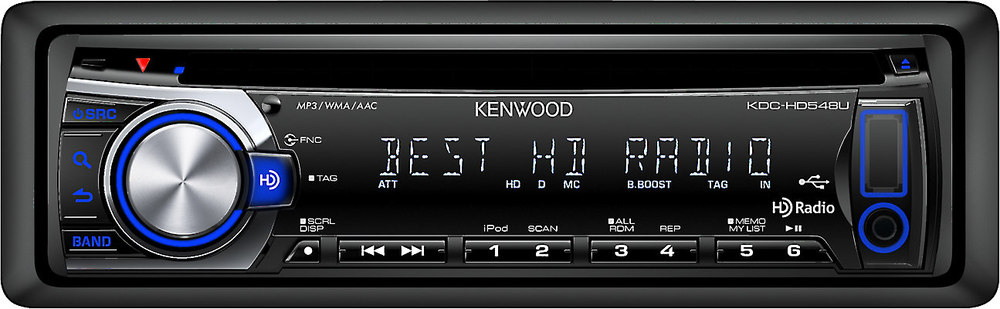 Kenwood kdc hd548u cd receiver at crutchfield cheapraybanclubmaster