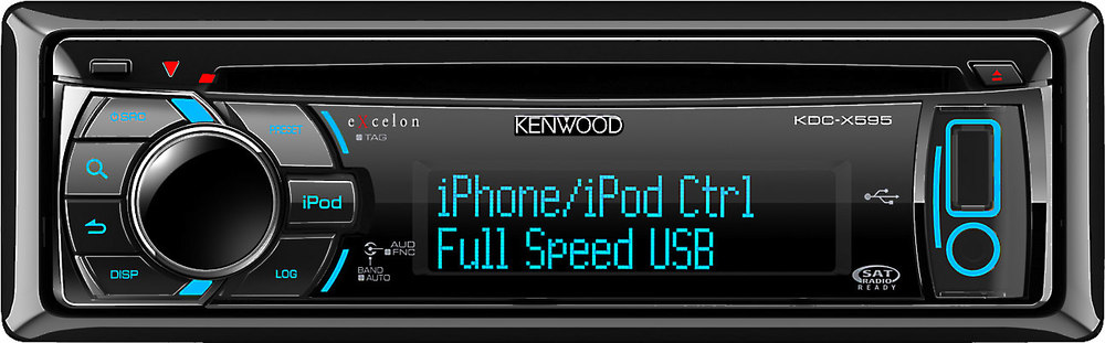 kenwood excelon kdc x595 cd receiver at crutchfield com rh crutchfield com