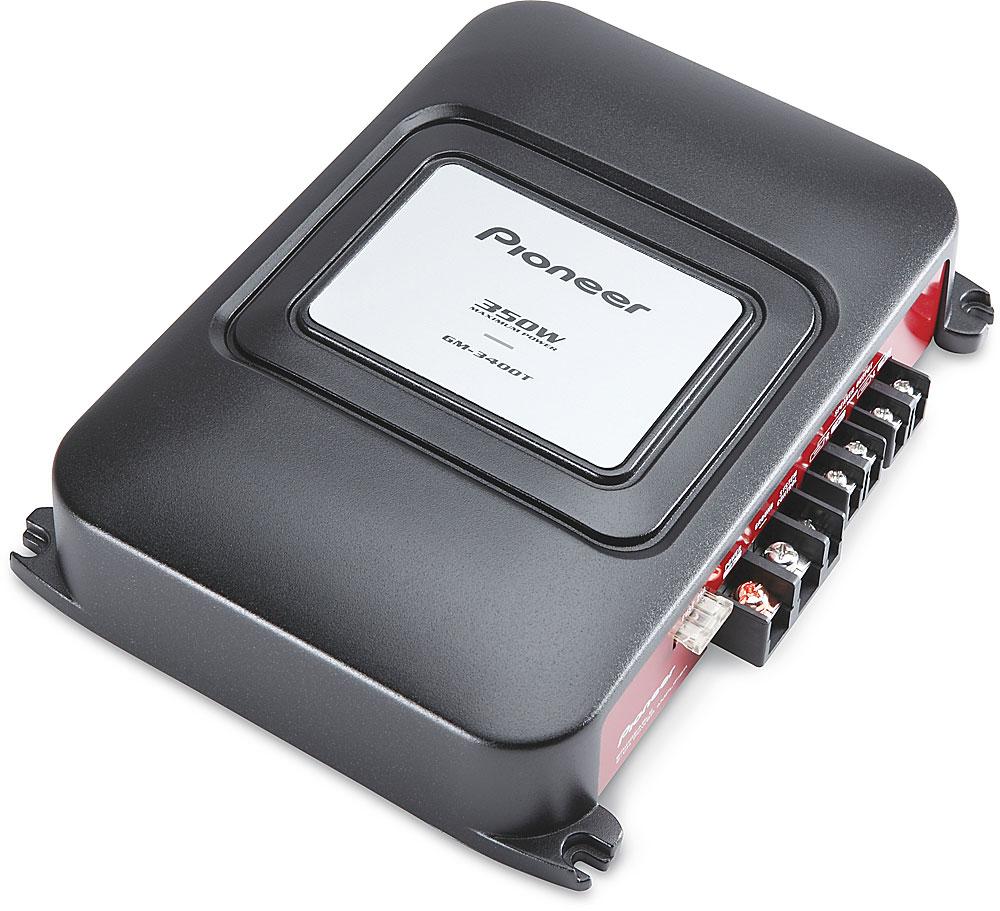 Pioneer GM-3400T 2-channel car amplifier — 60 watts RMS x 2 at  Crutchfield.com