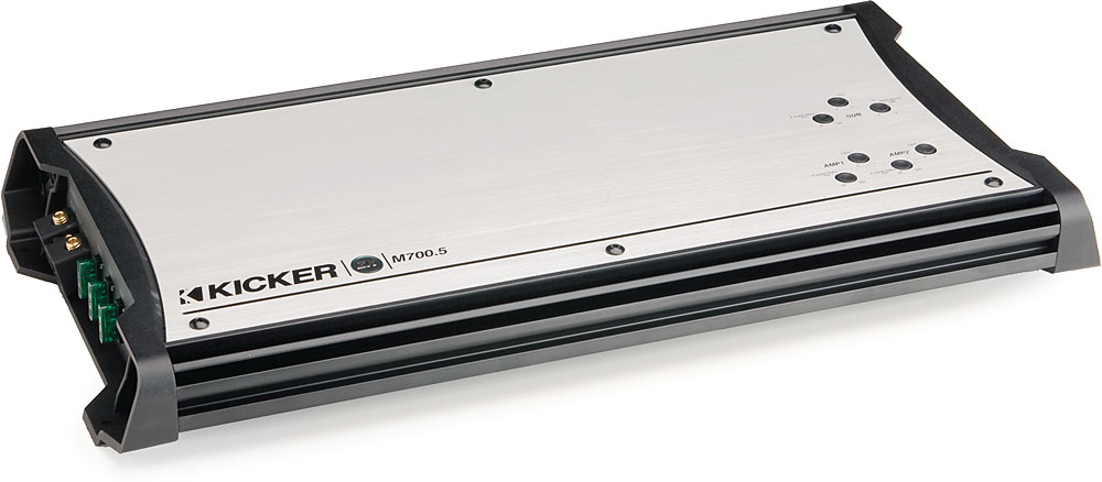 x206ZXM7005 F kicker zxm700 5 marine amplifier 70 watts rms x 4 210 rms x 1  at edmiracle.co