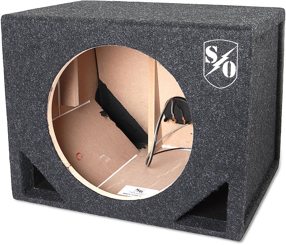 Sound Ordnance Bass Bunker Ported Single 12 Subwoofer Enclosure 50 Feet Of 18 5 Thermostat Wire Gauge Conductors Ebay Model Bb12 150v At