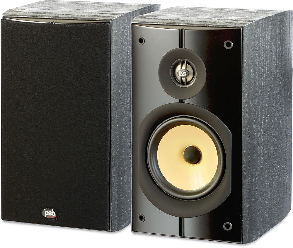 psb image b5 PSB Image B5 (Black Ash) Bookshelf speakers at Crutchfield.com