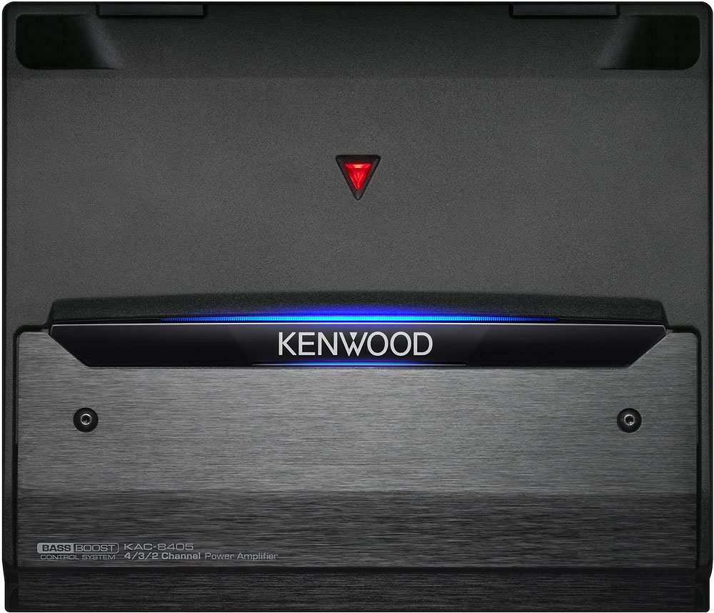 Kenwood Kac 8405 4 Channel Car Amplifier 60 Watts Rms X At Colt Amp Fuse Box