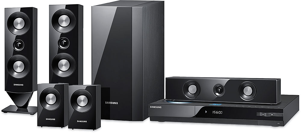 Samsung HT C6500 Internet Ready Blu Ray DiscTM Home Theater System With Built In Wi Fi At Crutchfield