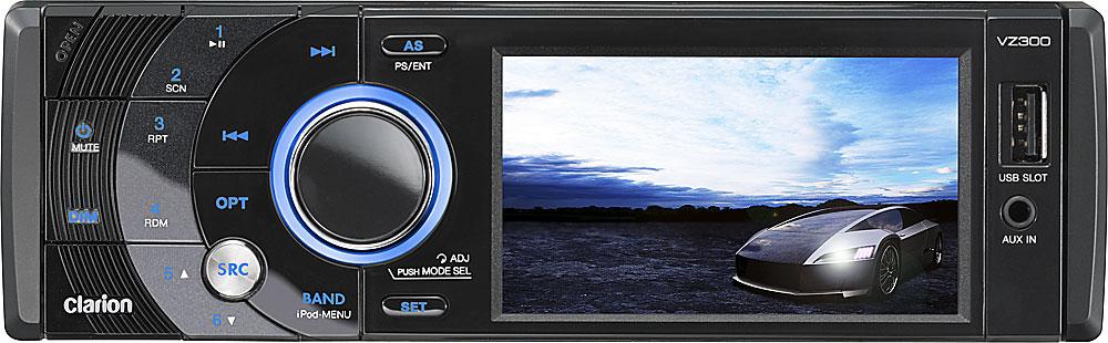 clarion vz300 dvd receiver at crutchfield com