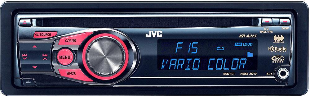 JVC nal KD-A315 CD receiver at Crutchfield.com Jvc Kd A Wiring Diagram on